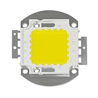 COB Chip/cob Foco Chip 32–36V/flutler COB Chip 100W–9000lúmenes–5.800–6000K–Blanco Frío
