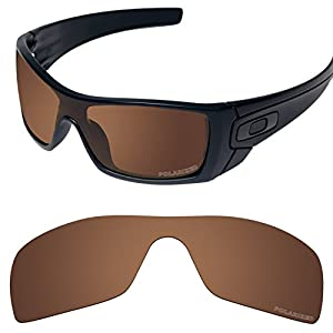 Tintart Performance Replacement Lenses for Oakley Batwolf Sunglass Polarized Etched