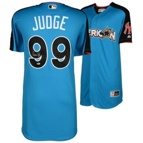AARON JUDGE Autographed Yankees 2017 Home Run Derby Authentic Jersey - Authentic Jersey Autographed Home Majestic