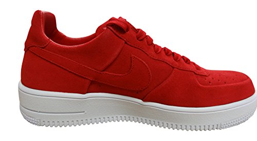 Nike Air Force 1 Ultraforce, Chaussures de Sport Homme Rouge - Rojo (Gym Red / Gym Red-white)