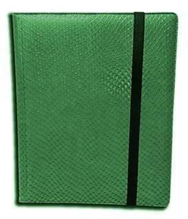 Pocket Dragon Dragons - Binder - 9 Pocket Dragon Hide Green