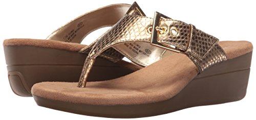 Sandal Aerosoles Snake Wedge Women's Gold Flower U7wn6qOtx