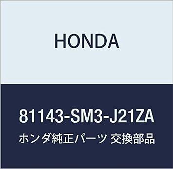 Honda Genuine 81143-SM3-J21ZA Headrest Guide Graphite Black