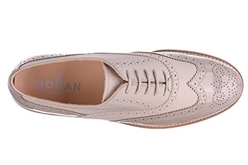 Femme Brogue Classiques H259 Brogue Hogan Cuir Percorso Lacets Chaussures xZ4tSS