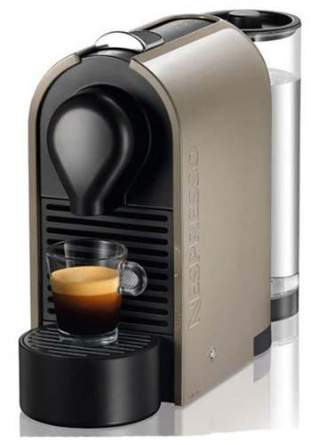 Cafetera Nespresso U Taupe (Gris arena) KRUPS XN250AP4: Amazon.es ...