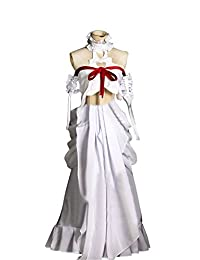 Mtxc Women's Sword Art Online ALO Cosplay Costume Asuna Yuuki Dress