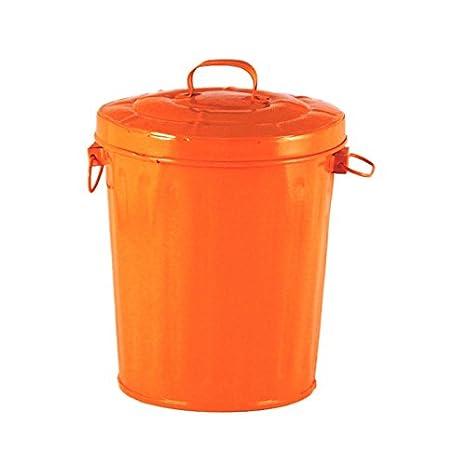 Orange Kitchen Trash Cans Ekenasfiberjohnhenrikssonse