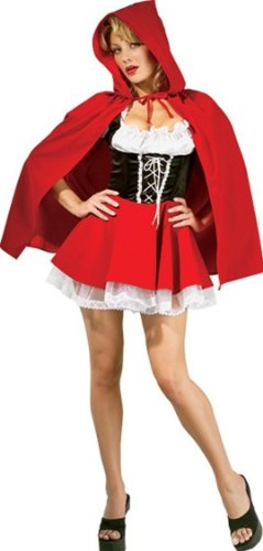 Secret Wishes Sexy Red Riding Hood Costume, Red, X-Small ()