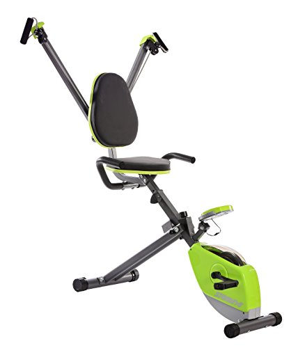 Stamina Wonder Exercise Bike with Upper Body Strength System