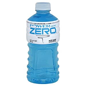 Powerade Zero Sports Drink, Zero Calorie, + B-vitamins, Mixed Berry, 32 Fl. Oz,and Other Natural Flavors. Attention! You Are Now in Control of a Zero Calorie Sports Drink + B Vitamins, ( Pack of 6)