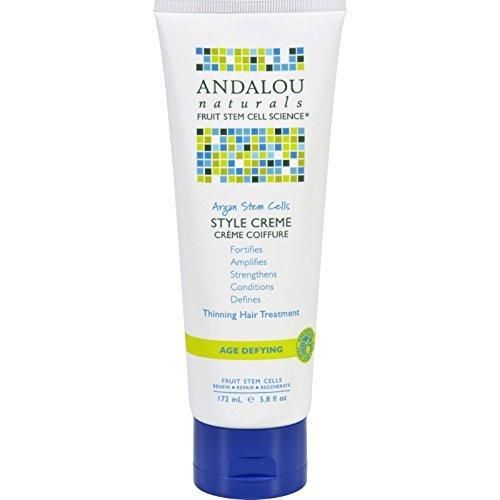 Andalou Naturals Creme Argan Stem Cell 5.8 Oz by Andalou Naturals