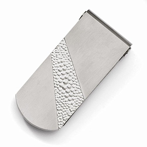 Titanium Pebble Titanium Textured Textured Pebble Money Clip Money Clip r5wrFn