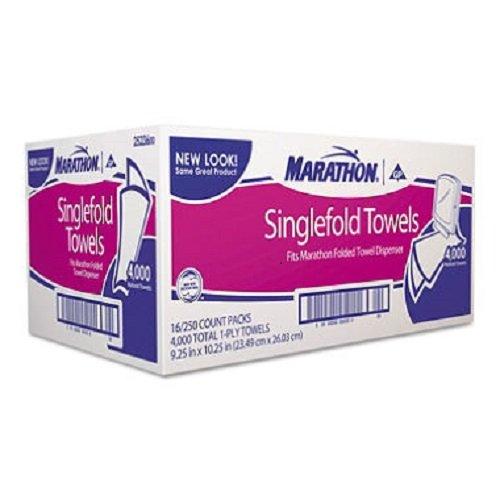 Marathon Singlefold Towels, 4,000 Ct.