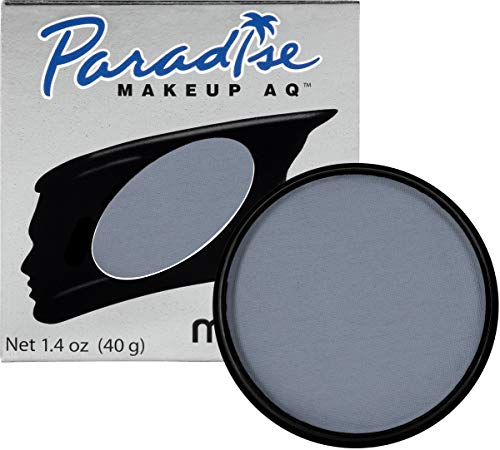 Mehron Makeup Paradise Makeup AQ Face & Body Paint (1.4 oz) (Storm Cloud) -