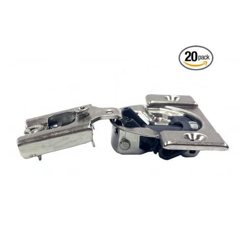1/2'' Blum Compact Soft-Close Blumotion Overlay Hinge-Pack of 20