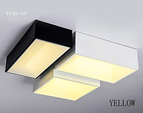 Haiyao 天井ランプ、ホームリビングルーム天井ランプ、寝室の装飾のシャンデリア、ウッドラウンジの創造的な天井の北欧ミニマリストの丸太寝室のランプの光は、JapeseのフラッシュライトDiyウッドを導きました (Color : White 50*30cm Warm Light) B07QSQWSD9 White 50*30cm Warm Light