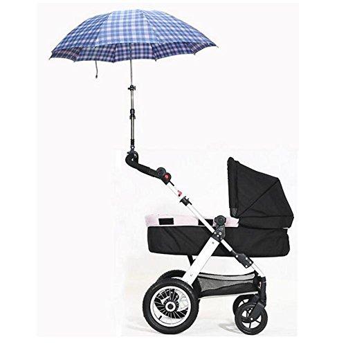 Bebé carro portátil carros paraguas stent ya no tiene miedo del sol (se aplica a foto como carros) , black: Amazon.es: Deportes y aire libre