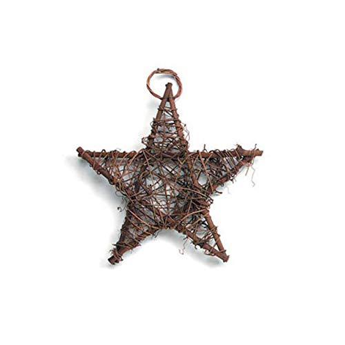 - Darice Bulk Buy DIY Grapevine Star Brown 10 inches (6-Pack) 2841-25