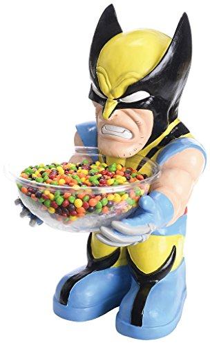 Super Hero Anti Hero Villain Candy Bowl Holder - Wolverine