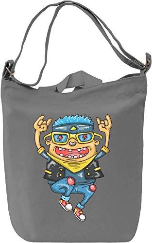 Cool dude Borsa Giornaliera Canvas Canvas Day Bag| 100% Premium Cotton Canvas| DTG Printing|