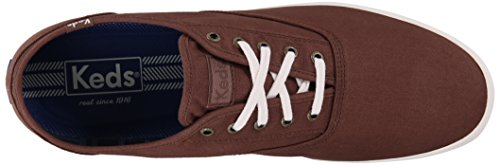 Keds Hommes Champion Solide Armée Twill Sneaker Cacao Marron