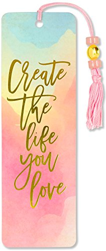 Watercolor Sunset Beaded Bookmark (Bookmarks Women)