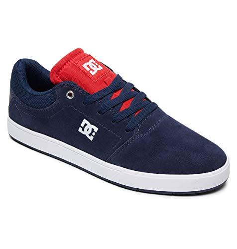 Shoes White Uomo Navy M Scarpe Dc Skateboard Crisis Da gpw7q8d