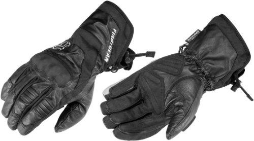 (Firstgear Navigator Gloves (X-LARGE) (BLACK))