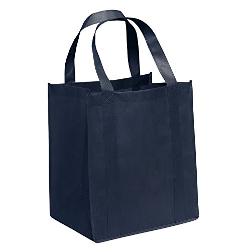 (Pack of 3- Eco-friendly Reusable Bag Non woven Grocery Tote bag 15