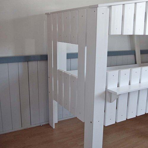 Kinderbett baumhaus  lounge-zone Höhlenbett Baumhausbett Kinderbett Bett Baumhaus ...