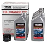 Yamalube Snowmobile Oil Change Kit 2 & 3 Cyl SS 1 Kt (0W30 SS Qty4) LUB-SMBCG-KT-01