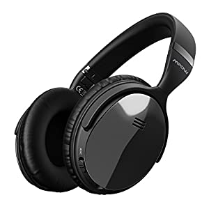 Mpow H5 [Gen-2] Active Noise Cancelling Headphones, Superior Deep Bass ANC Over Ear Wireless Bluetooth Headphones w/Mic, 30Hrs Playtime Comfortable Protein Earpads for PC/Cell Phone
