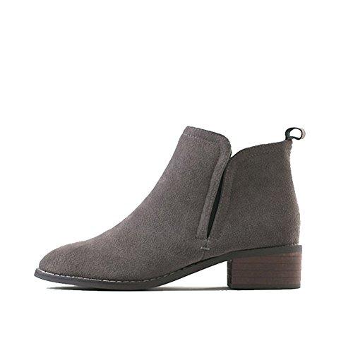 En primavera y otoño con arranque de Inglaterra/cargadores de Martin/ Chelsea boots con plano/ botas de trabajo C