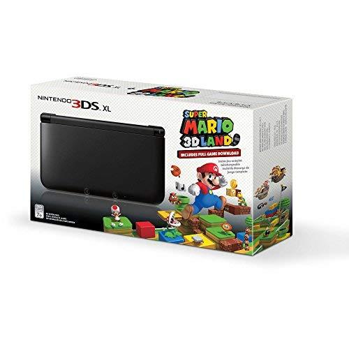 Nintendo 3DS XL Handheld Console with Super Mario 3D Land, Black(Renewed)