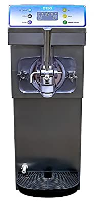 Compact Commercial Soft Serve & Frozen Slush Machine - 7 Quart Capacity