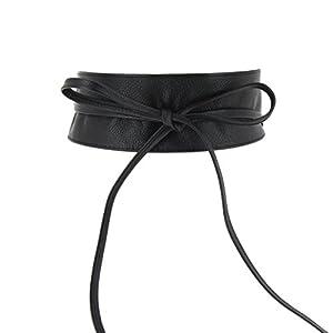 FASHIONGEN – Woman Italian leather Obi belt, CASSIANE