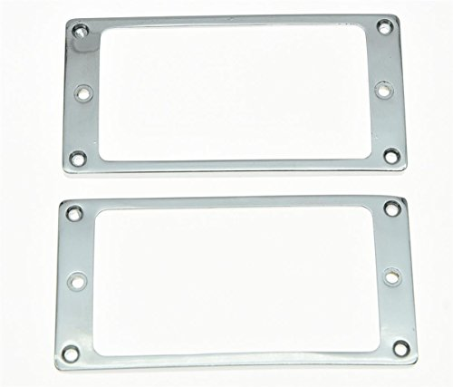 KAISH 2pcs Metal Chrome Humbucker Pickup - Flat Base Hardware Shopping Results