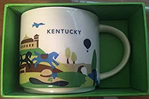 Amazon Com Starbucks You Are Here Collection Coffee Cup Kentucky Coffee Cups Amp Mugs