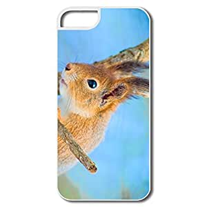 PTCY IPhone 5/5s Designed Vintage Cute Squirrel