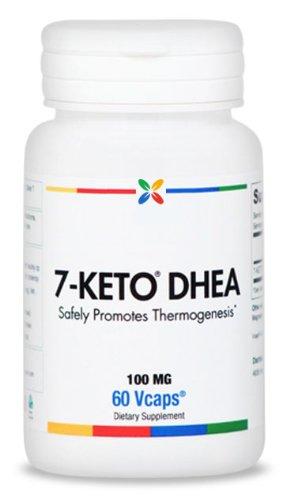 7-KETO® DHEA - 100 mg. Prime année | 60 Veggie Caps. Made in USA. (1 pièce)