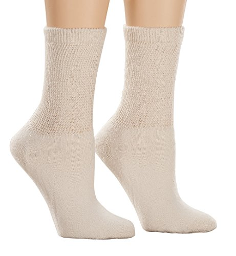 EasyComforts Healthy StepsTM 3 Pack Diabetic Socks