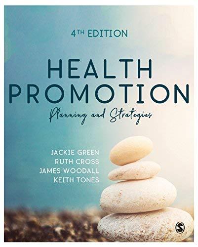 Health Promotion: Planning & Strategies (English Edition)