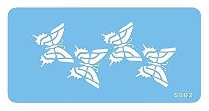 Pme Plantillas De Cuatro Mariposas Jem Amazones Hogar