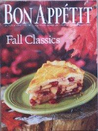 Bon Appetit Magazine (Bon Appetit, October (Halloween Bon Appetit)