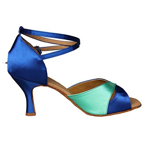 Kevin Fashion ,  Damen Tanzschuhe , Blau - blau - Größe: 35.5