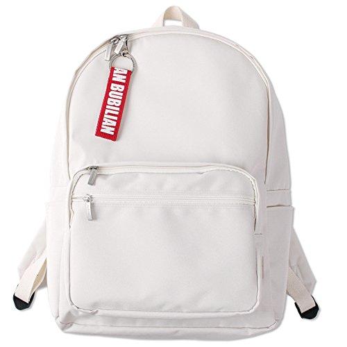 Bubilian BTBB Backpack / Korean Street Brand / School Bag / Travel Bag (Cream)