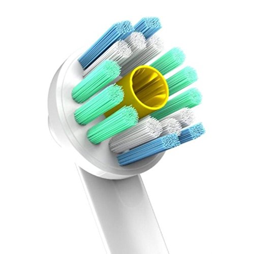 Oral B Braun Compatible Replacement Brush Heads - Pack Of 12 Electric Toothbrush Assorted Heads - Includes 4 Floss Action, 4 Pro White & 4 Cross, more.. - Try Them All You'll Find Your Favorite by Pearl Enterprises (Image #3)