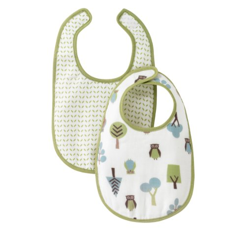 (DwellStudio Bib Set, Owls)