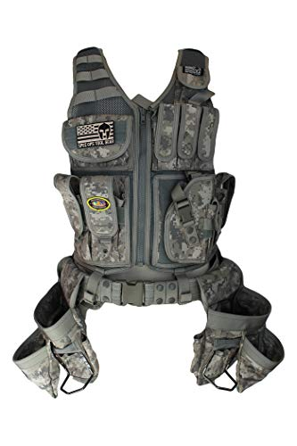 Special Operations Tool Gear Weekend Warrior (Finish Carpenter) Tactical Tool Vest (Digital Camo) ()