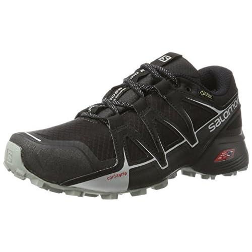 chollos oferta descuentos barato Salomon Speedcross Vario 2 GTX Calzado de Trail Running Hombre Negro Phantom Black Monument 49 1 3 EU